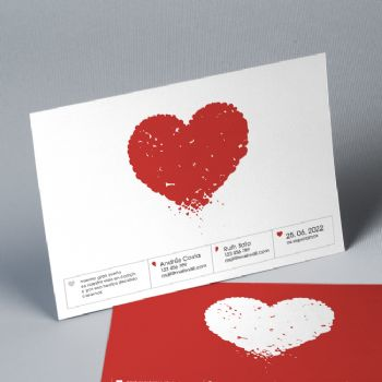 Invitación Boda Our Heart 20847