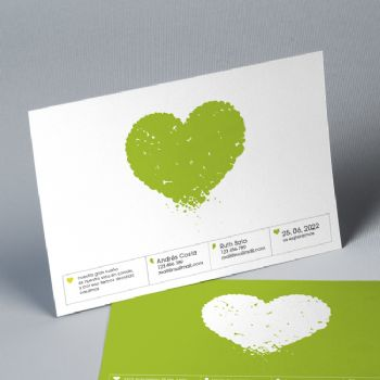 Invitación Boda Our Heart 20849