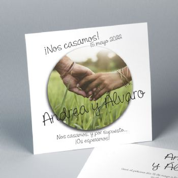 Invitación de boda Sticker 20862