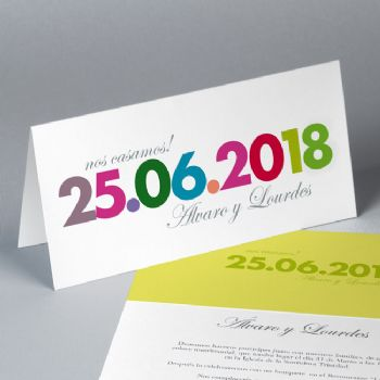 Invitaciones Boda Save the date