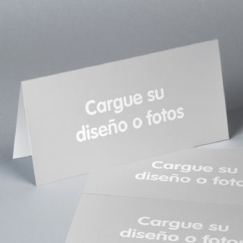 Invitaciones de boda rectangular DIY