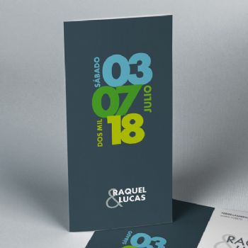 Invitaciones de boda Save the date 52600087